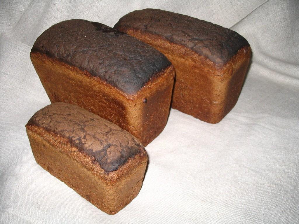Ароматный хлебушек из русской печи